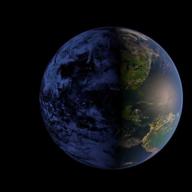 Earth, Space, Blue Planet
