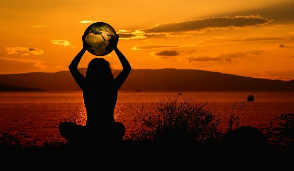 Earth, Meditation, World, Relaxation, Sunset, Keep