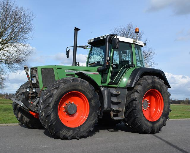 Fendt, Tractor, Machine, Earth, Wheel