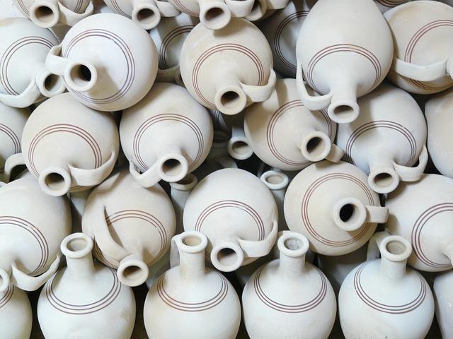 Jugs, Pottery, Fragile, Earthen Material, Earthenware
