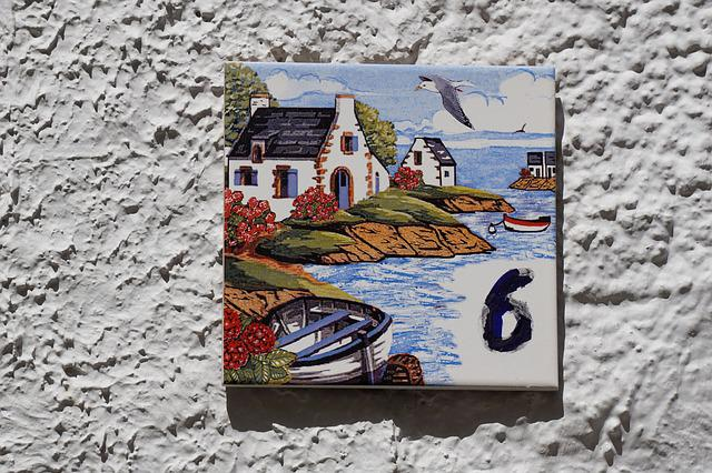 Tile, Earthenware, Set Designer, Ceramic, Number