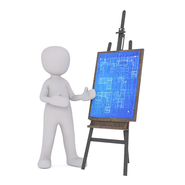 Board, Easel, Architect, Engineer, Sketch, Drawing