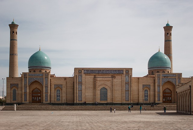 Tashkent, Uzbekistan, Mosque, East, Heat, Middle Asia