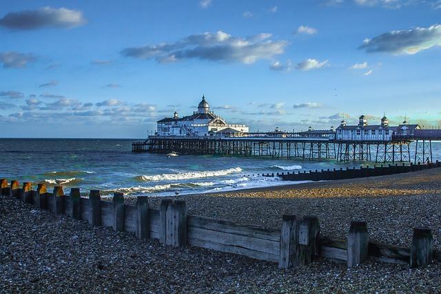 Eastbourne Pier, England, Seascape
