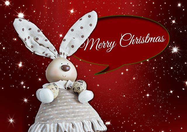 Christmas, Hare, Holidays, Greetings, Easter Bunny