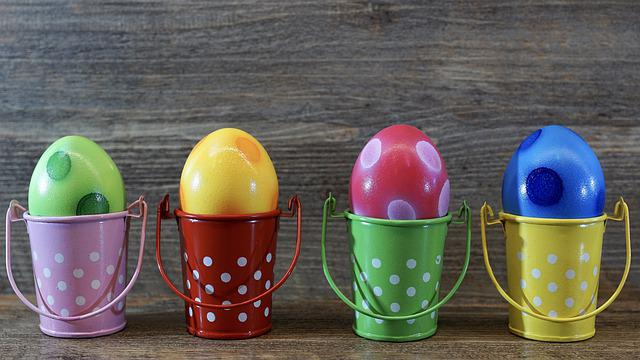 Easter, Egg, Colorful, Color, Background, Colored