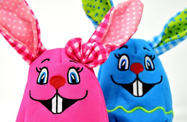 Easter, Easter Bunny, Colorful, Color