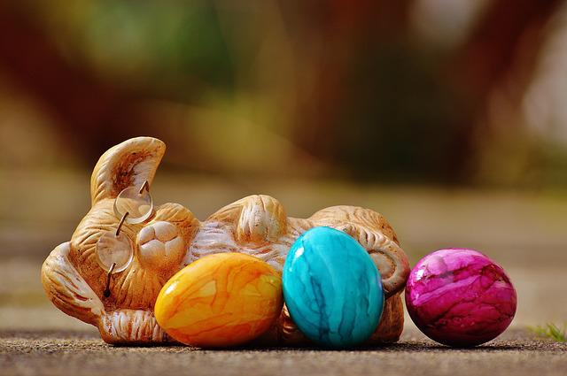 Easter, Egg, Colorful, Hare, Happy Easter
