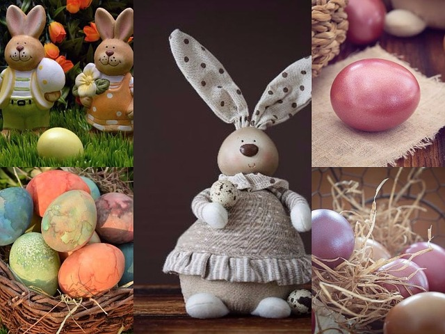 Background, Easter, Egg, Colorful Eggs, Hare
