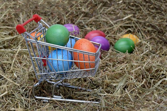 Easter Eggs, Easter, Egg, Decoration, Easter Decoration