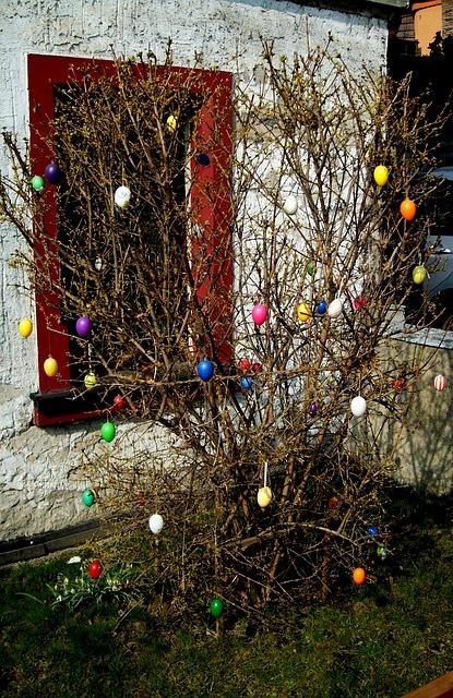Easter Bush, Easter, Customs, Easter Decorations