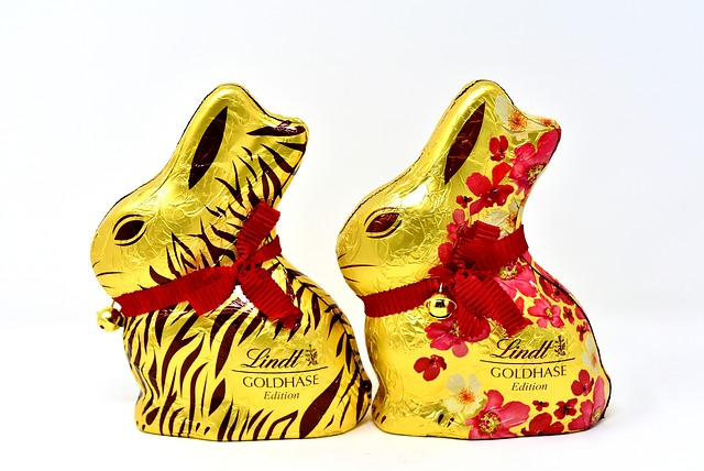 Easter Bunny, Chocolate, Easter, Delicious, Lindt