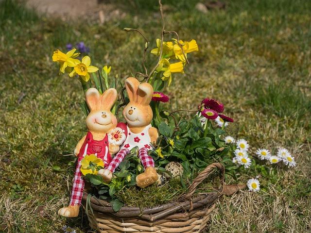 Easter, Easter Bunny, Deco, Easter Decor, Osterkorb