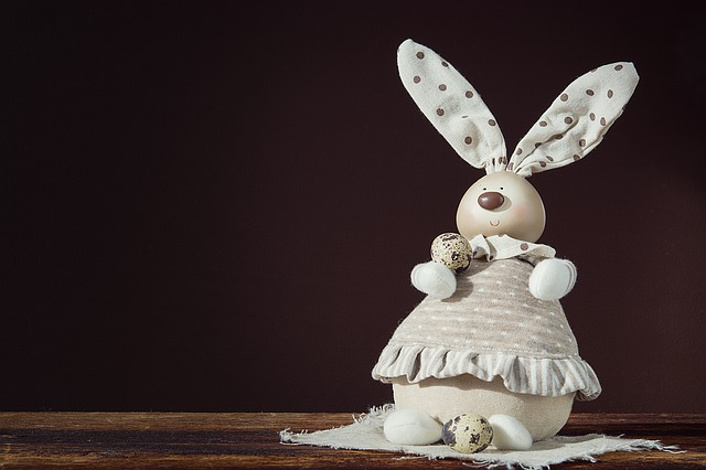 Deco-hase, Deco-bunny, Quail Eggs, Easter Bunny, Easter