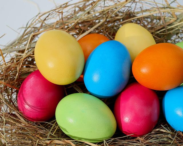 Easter, Egg, Easter Eggs, Colorful Eggs