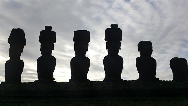Moai, Easter Island, Statue, Easter, Island, Rock