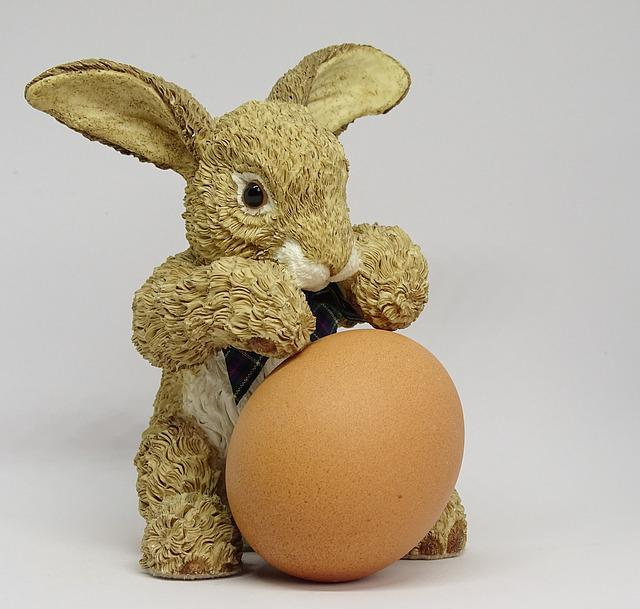 Hare, Egg, Easter Decoration, Easter Bunny, Easter Egg