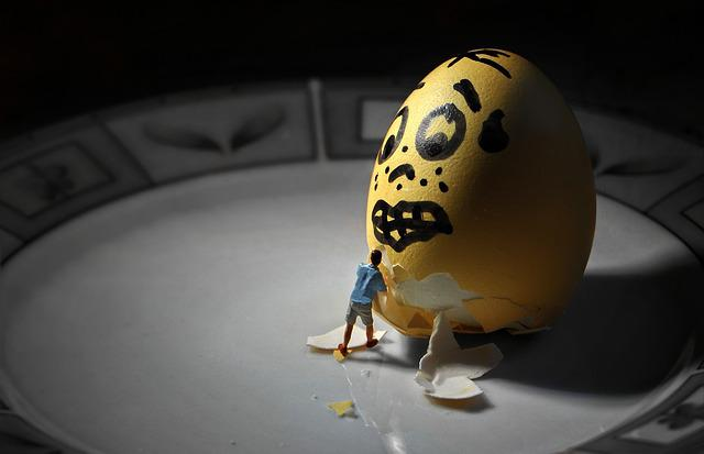 Egg, Easter Egg, Little People, Tiny People