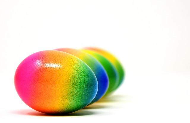 Easter, Easter Eggs, Colored, Happy Easter, Colorful