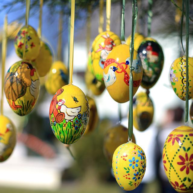 Easter Eggs, Easter, Easter Egg, Easter Egg Painting