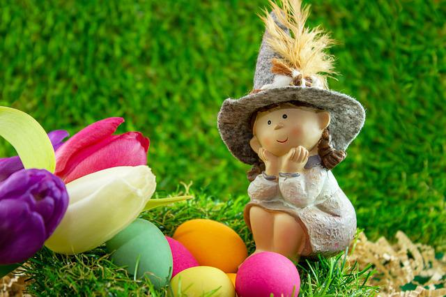 Easter, Egg, Figure, Easter Eggs, Colorful