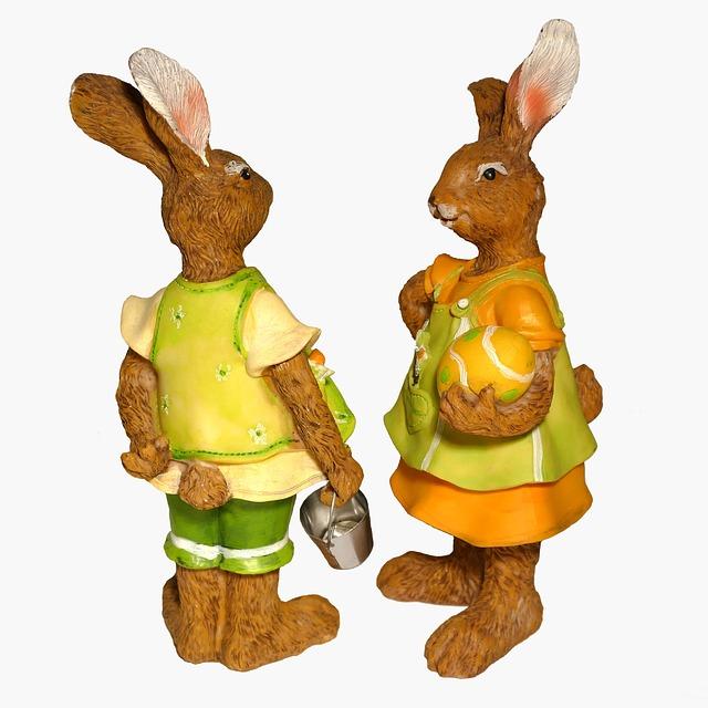 Easter Bunny, Easter, Easter Figures, Easter Decoration