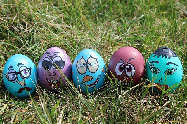 Easter, Fun, Easter Egg, Lawn, Season, Funny, Color