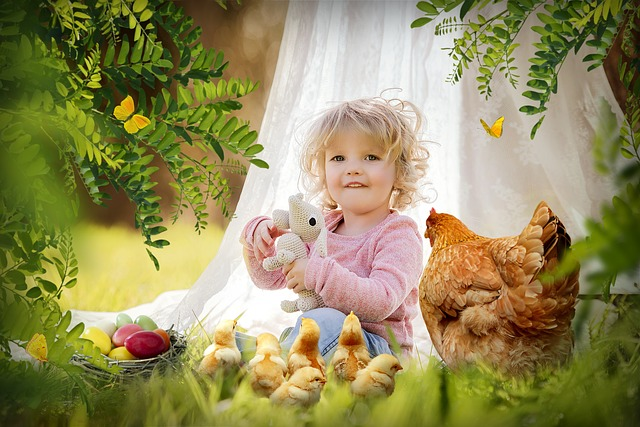 Child, Easter, Nature, Beautiful, Cute, Little, Girl