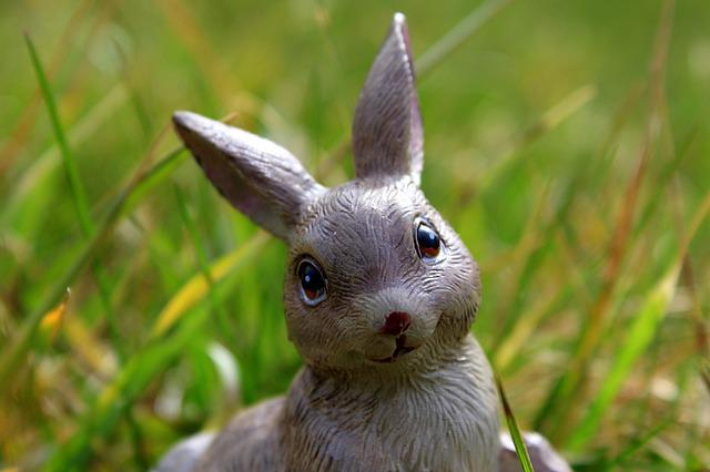 Easter Holidays, Bunny, Nature, Lawn, Charming