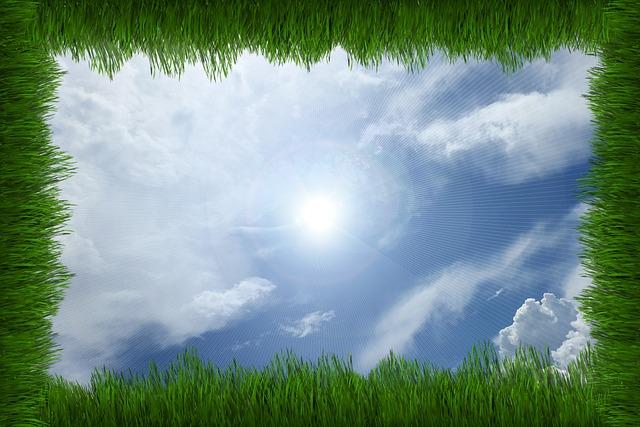 Easter, Sun, Rays, Grass, Nature, Meadow, Summer