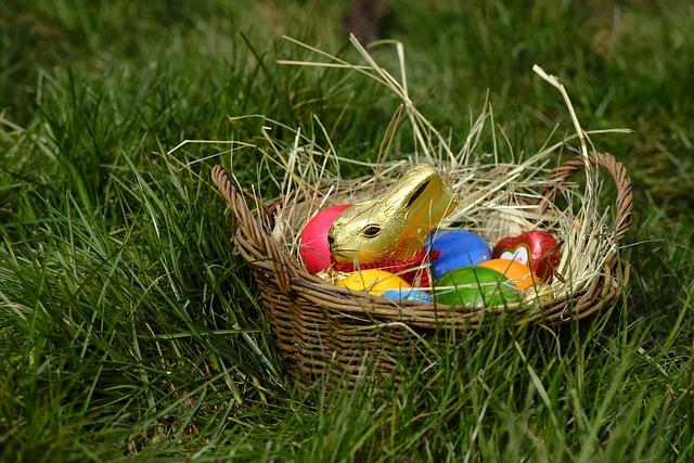 Hare, Easter Bunny, Easter Eggs, Easter Nest, Nest