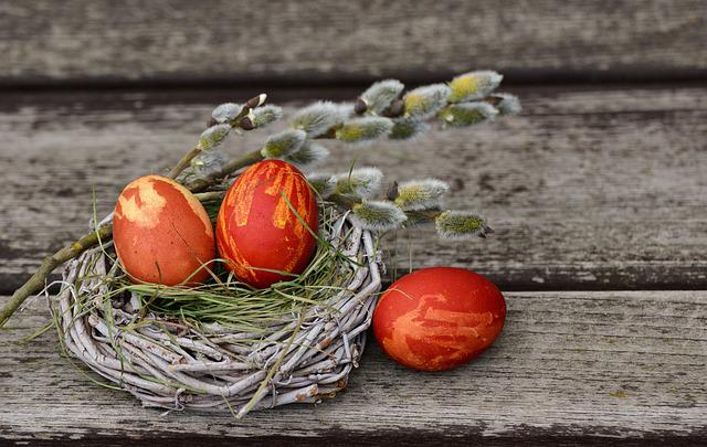 Easter Eggs, Easter Nest, Easter Decoration, Easter