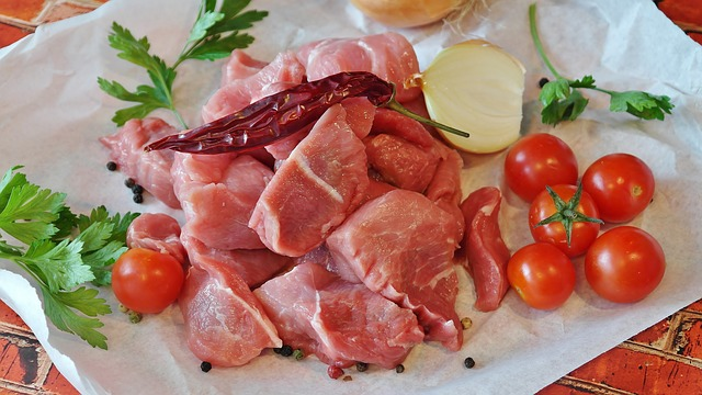 Goulash, Meat, Pork, Raw, Court, Main Course, Cook, Eat