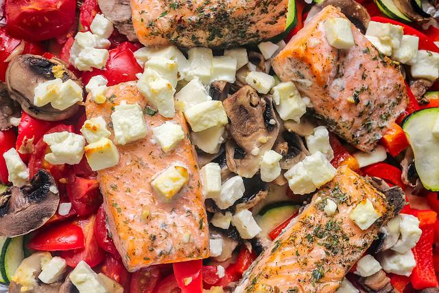 Eat, Health, Casserole, Vegetables, Fish, Delicious