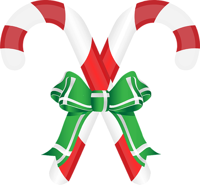 Candy Cane, Christmas, Decorative, Eat, Edible, Food