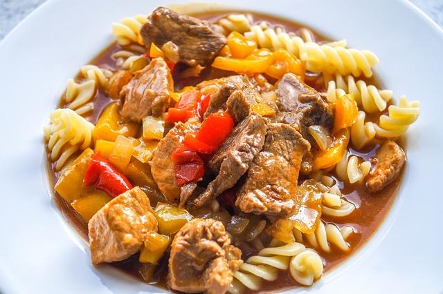 Goulash, Noodles, Eat, Food, Nutrition, Beef, Cook