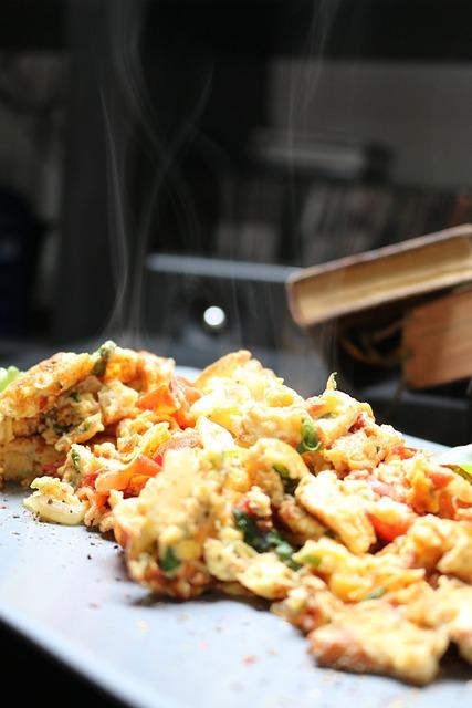 Scrambled Eggs, Egg, Eat, Breakfast, Fried, Healthy