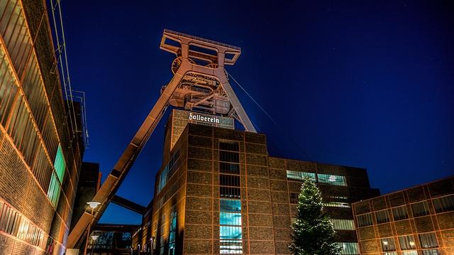 Eat, Zeche Zollverein, Mine, Industrial Heritage