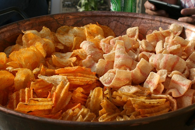 Chips, Snack, Eat, Potato Chips, Salty, Nibble, Food