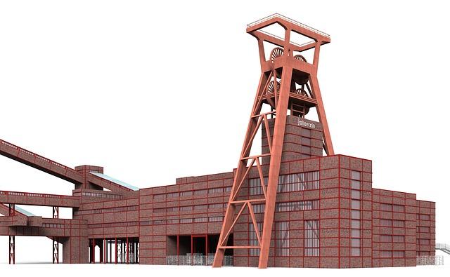 Bill, Zollverein, Eat, Building, Places Of Interest