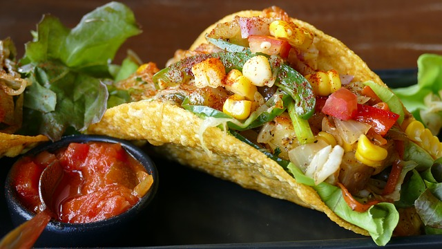 Tacos, Mexican, Eat, Delicious, Lunch, Food, Plate
