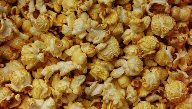 Popcorn, Nibble, Snacks, Knabberzeug, Eat, Crispy