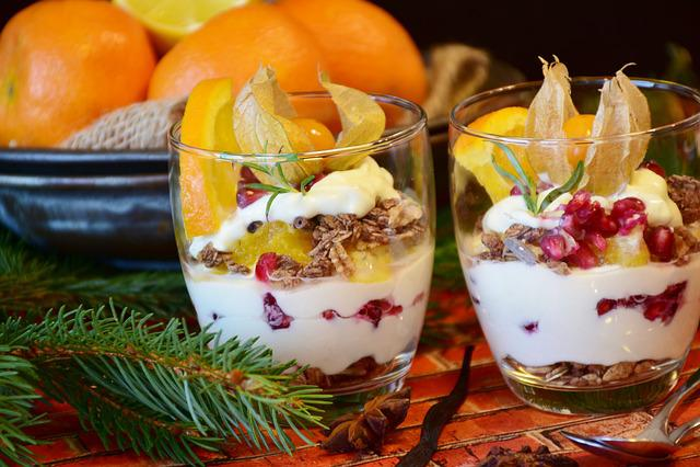 Quark, Quark Cream, Dessert, Food, Nutrition, Eat