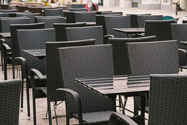 Table, Chair, Gastronomy, Out, Eat, Drink, Empty