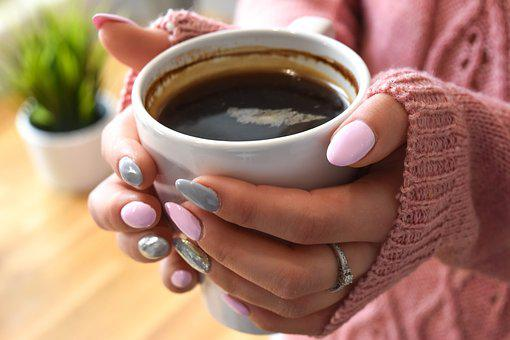 Coffee, The Drink, Hot, Eating, Breakfast, Nails