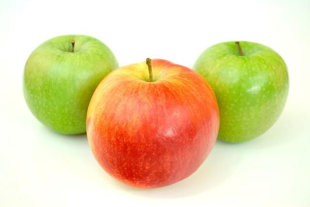 Nice Apples, Green, Eating Healthy, Healthy Food