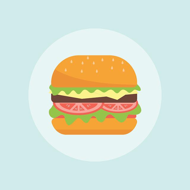Burger, Eat, Meal, Food, Hamburger, Fast, Lunch, Eating