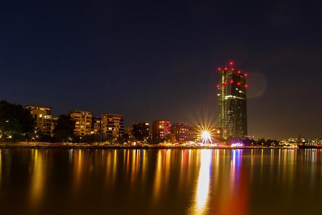 Skyline, Skyscraper, Skyscrapers, Ecb