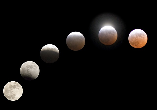 Moon, Lunar, Lunar Eclipse, Eclipse