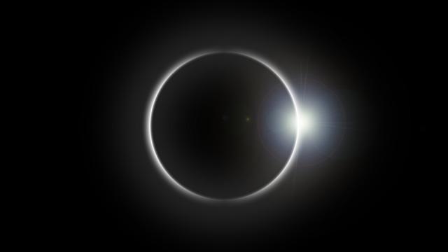 Eclipse, Solar Eclipse, Sun, Flare, Astronomy, Space